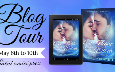 #BlogTour One Night With A Witch(Keepers of the Veil #5) By Zoe Forward