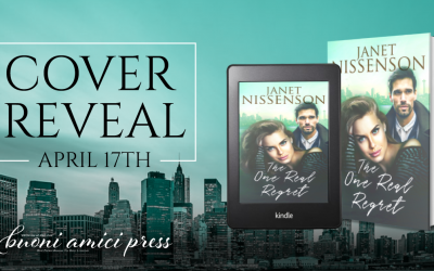 #CoverReveal The One Real Regret By Janet Nissenson