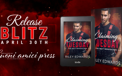 #ReleaseBlitz Claiming Tuesday(The Next Generation #4)By Riley Edwards