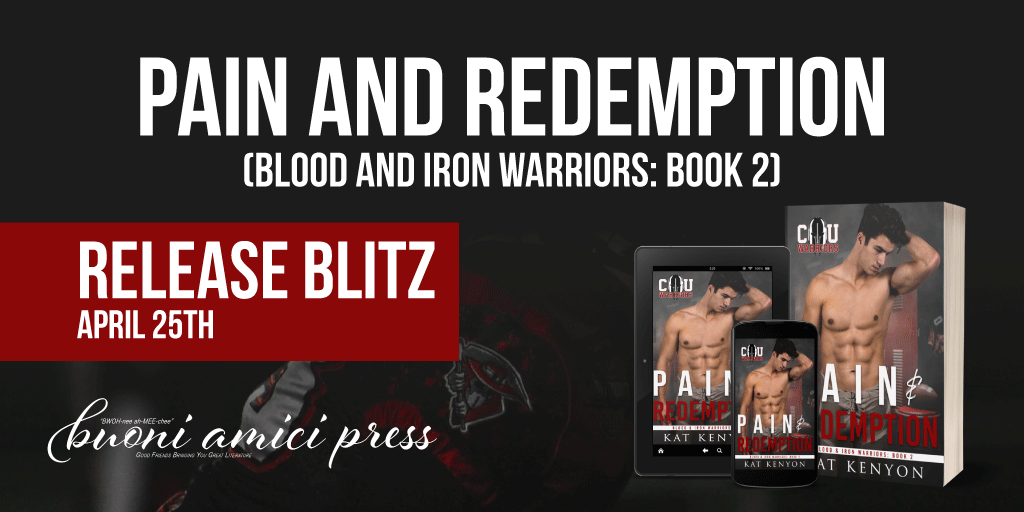 #Release Blitz Pain and Redemption By Kat Kenyon