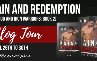 #Blog Tour Pain and Redemption By Kat Kenyon