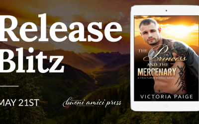 #ReleaseBlitz The Princess and the Mercenary By Victoria Paige