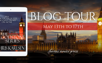 #BlogTour The Bloodstone Series By Chris Karlsen