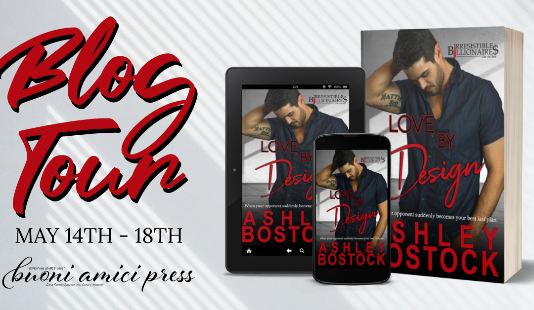 #BlogTour Love By Design By Ashley Bostock