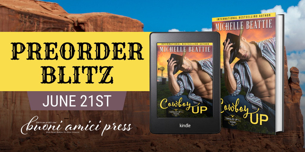 #PreOrderBlitz Cowboy Up By Michelle Beattie