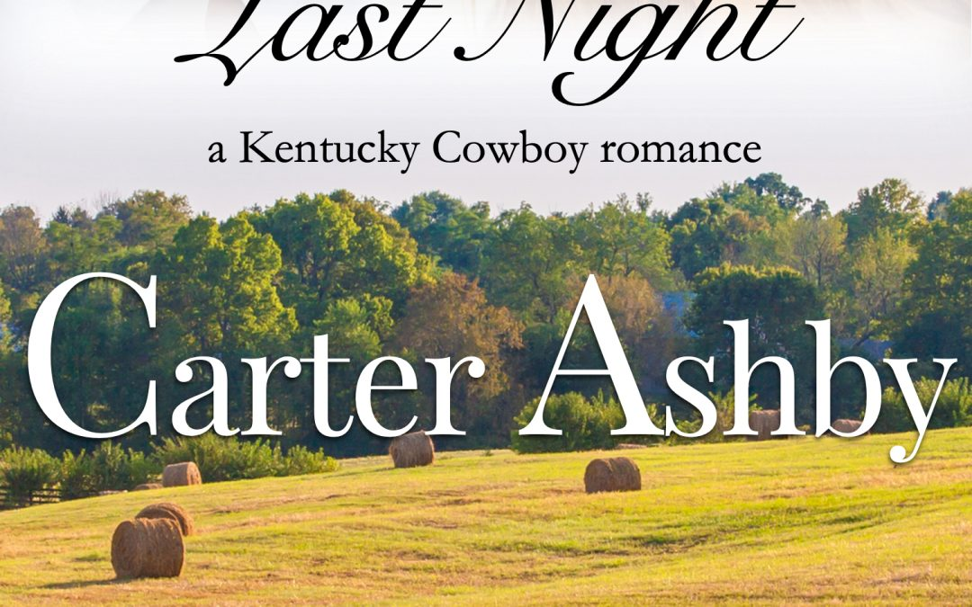 [New Event] About Last Night by Carter Ashby Release Blitz (with review option)