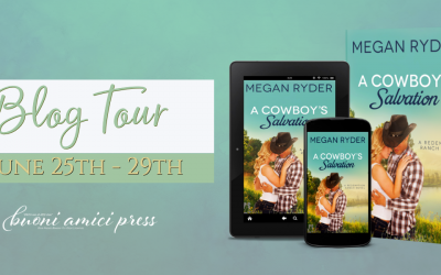 #BlogTour A Cowboy's Salvation By Megan Ryder