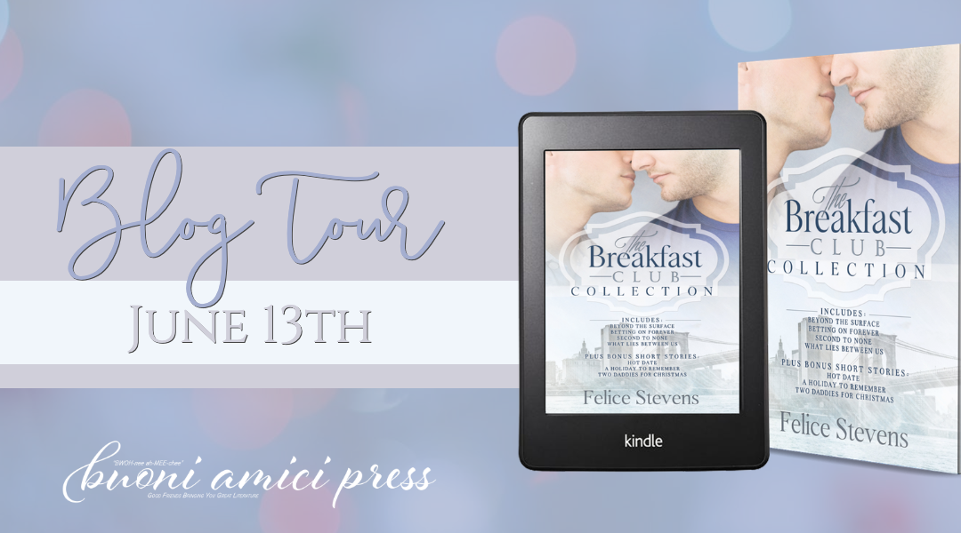 #BlogTour The Breakfast Club By Felice Stevens