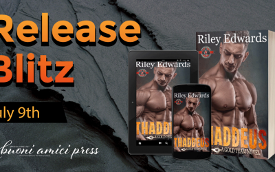 #Release Blitz Thaddeus (A Gold Team Novel) By Riley Edwards