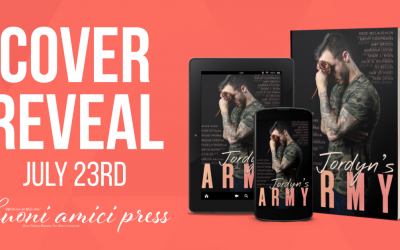 #CoverReveal Jordyn's Army Anthology