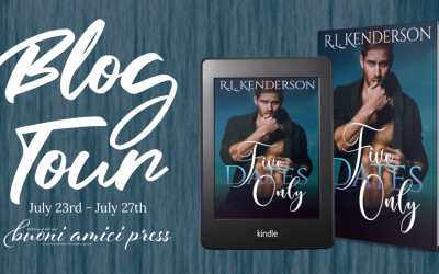 #BlogTour Five Dates Only By R.L. Henderson