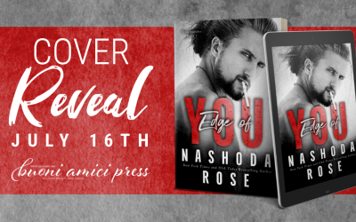 #CoverReveal The Edge of You ( Tear Assunder, Book 5) By Nashoda Rose