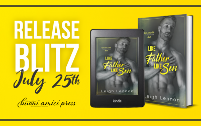 #ReleaseBlitz Like Father Like Son (Father/Son Duet #1)By Leigh Lennon