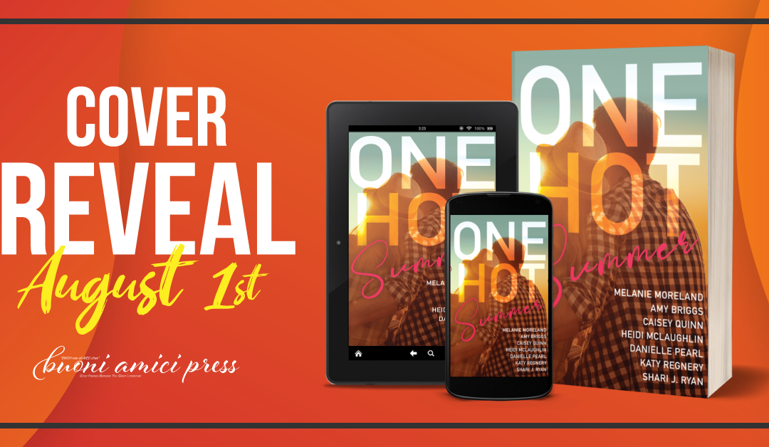 #CoverReveal One Hot Summer Anthology