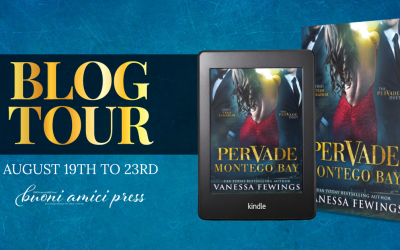 #BlogTour Pervade London By Vanessa Fewings