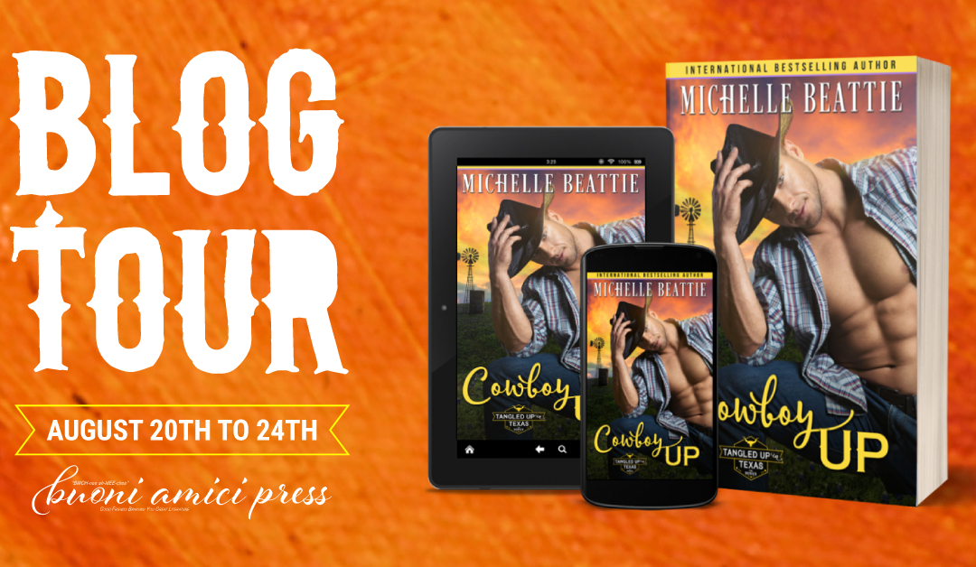 #BlogTour Cowboy Up By Michelle Beattie