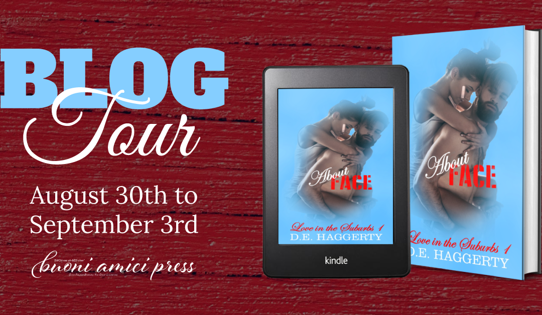 #BlogTour About Face (Love in the Suburbs #1) By D.E. Haggerty