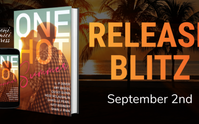 #ReleaseBlitz One Hot Summer Anthology