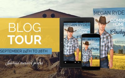 #BlogTour Coming Home To The Cowboy By Megan Ryder