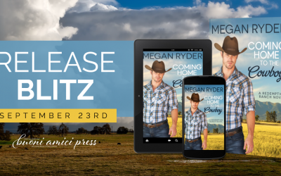 #ReleaseBlitz Coming Home To The Cowboy By Megan Ryder
