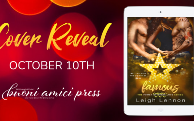 #CoverReveal Famous By Leigh Lennon