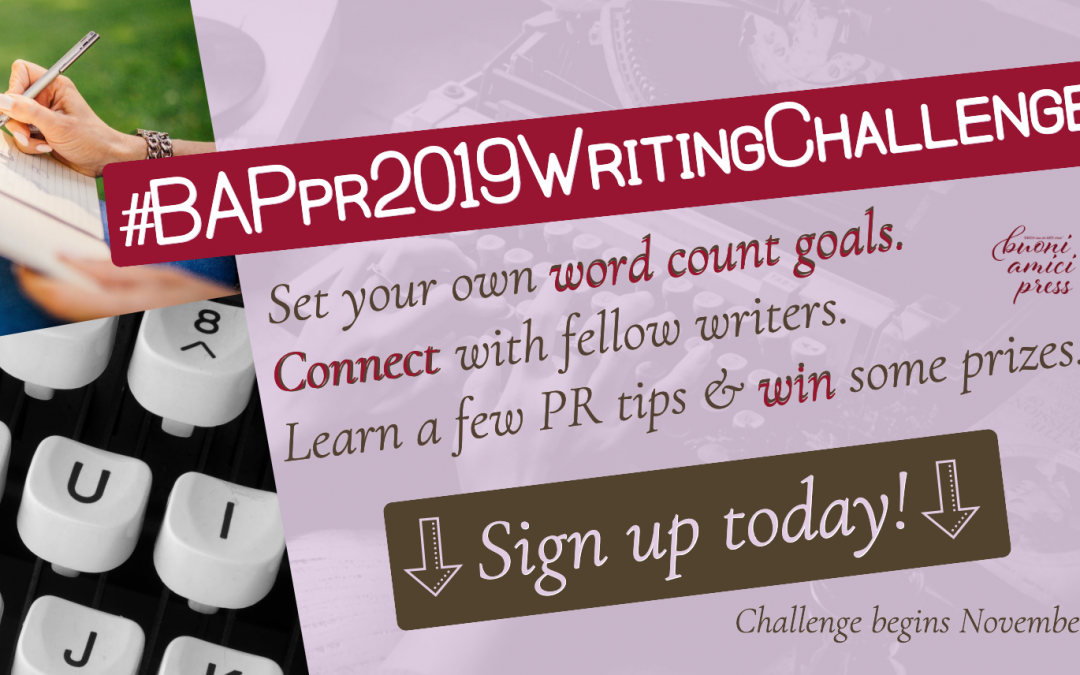 Calling all writers! We have something for you!