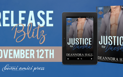 #ReleaseBlitz Justice for Daesha (Bluegrass Bravery #4)