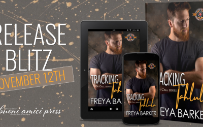 #Release Blitz Tracking Tahlula (On Call #3) By Freya Barker