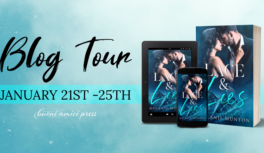#BlogTour Lace & Lies By Melanie Munton