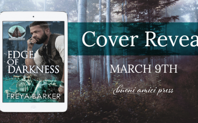 #CoverReveal Edge Of Darkness ( Arrow's Edge MC, #2) By Freya Barker