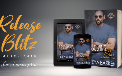 #ReleaseBlitz Absolving Blue (On Call, #5) By Freya Barker