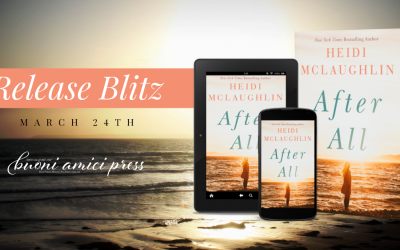 #ReleaseBlitz After All (Cape Harbor) By Heidi McLaughlin
