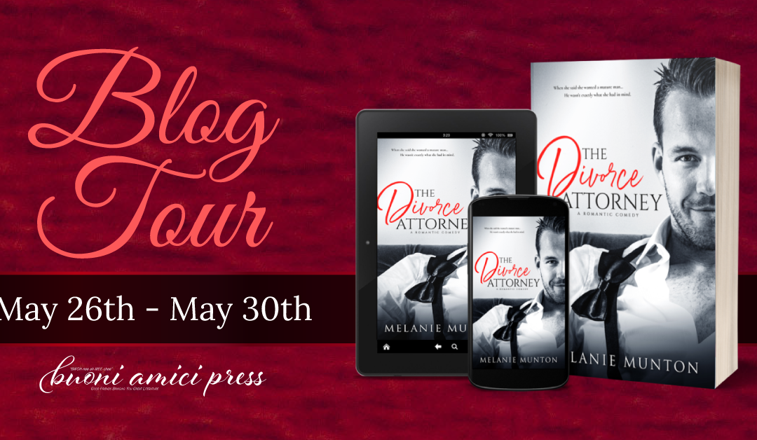 #BlogTour The Divorce Attorney By Melanie Munton