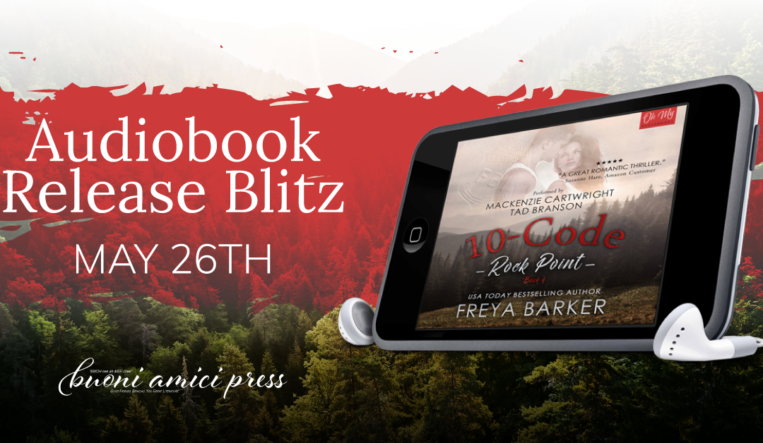 #AudiobookReleaseBlitz 10 Code (Rock Point #4) By Freya Barker
