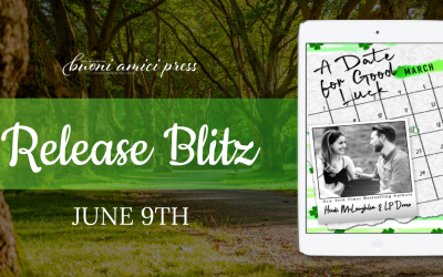 #ReleaseBlitz A Date For Good Luck By Heidi McLaughlin & LP Dover