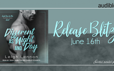 #AudioBookReleaseBlitz Different As Night As Day By Leigh Lennon