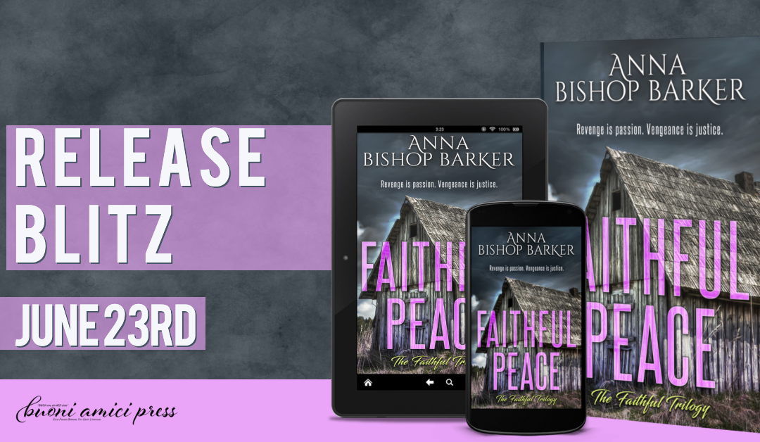 #ReleaseBlitz Faithful Peace By Anna Bishop Barker