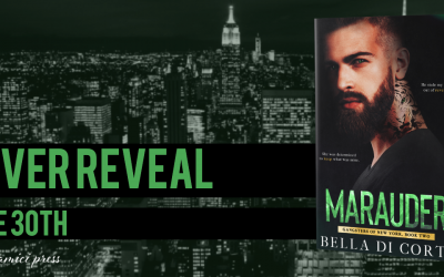 #CoverReveal Marauder( Gangsters of New York, Book 2)