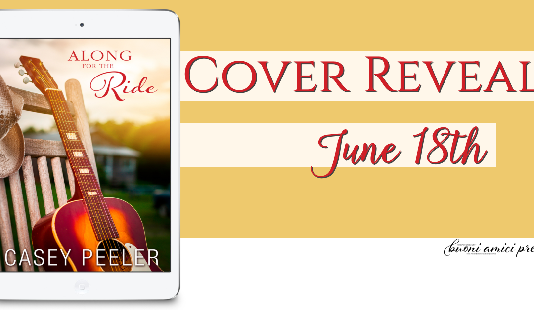 #CoverReveal Along For The Ride By Casey Peeler