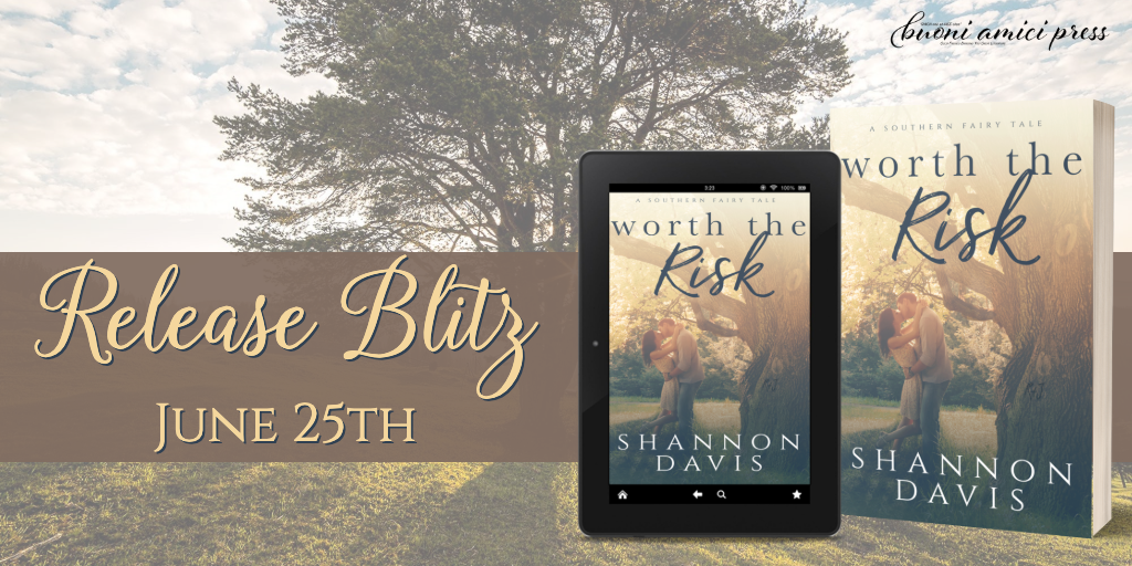 #ReleaseBlitz Worth The Risk By Shannon Davis