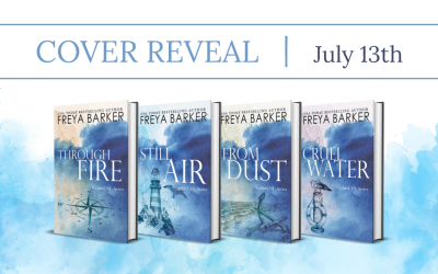 #CoverReReveal Portland ME Series By Freya Barker