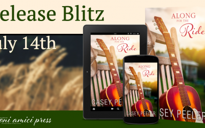 #ReleaseBlitz Along For The Ride By Casey Peeler