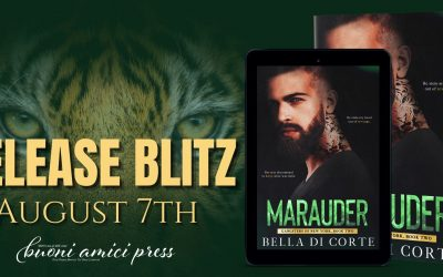 #ReleaseBlitz Marauder(Gangsters of New York, Book 2) By Bella Di Corte