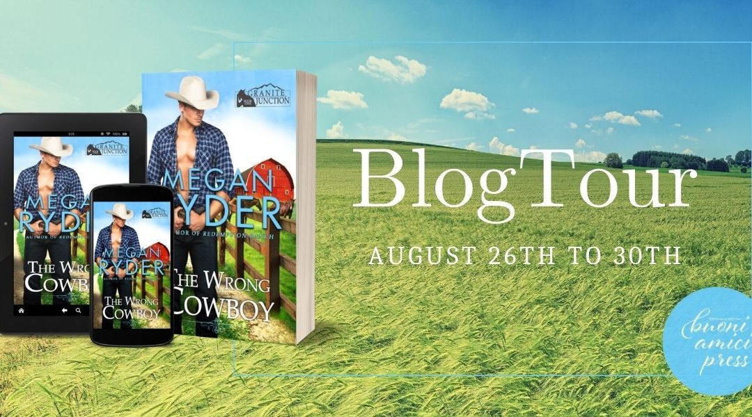 #BlogTour The Wrong Cowboy By Megan Ryder