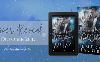 #CoverReveal Everything That Glitters By Emery Jacobs