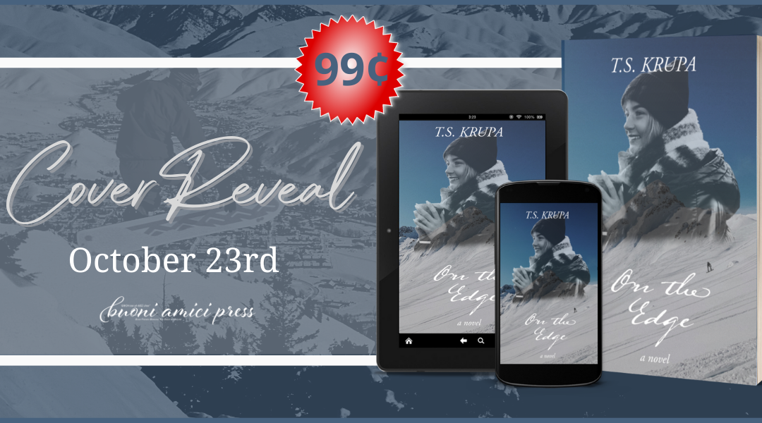#CoverReReveal On The Edge By TS Krupa