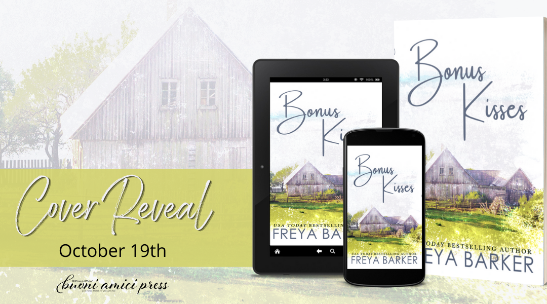 #CoverReveal Bonus Kisses By Freya Barker