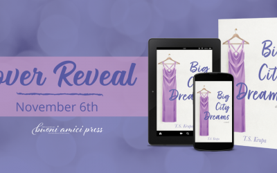#CoverReveal Big City Dreams By TS Krupa