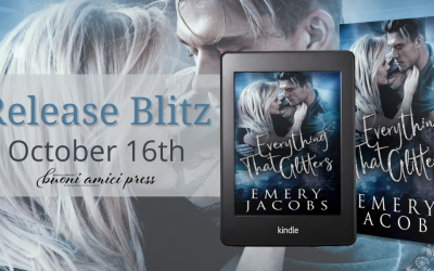 #ReleaseBlitz Everything That Glitters By Emery Jacobs