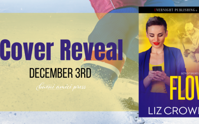 #CoverReveal FLOW, Detroit Sports Network Book 2 By Liz Crowe
